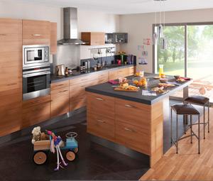 Agencer un espace salon cuisine salle manger for Mini ilot central